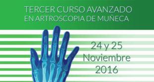 TERCER CURSO AVANZADO EN ARTROSCOPIA DE MUÑECA