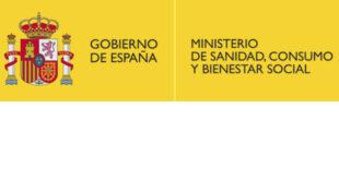 Web ministerio para personal sanitario COVID-19